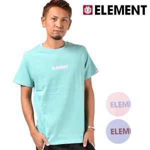 メンズ 半袖 Tシャツ ELEMENT エレメント AI021-270 FX3 G7 murasaki