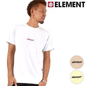 メンズ 半袖 Tシャツ ELEMENT エレメント AI021-271 FX3 G5 murasaki