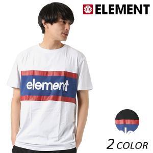 SALE セール メンズ 半袖 Tシャツ ELEMENT エレメント AI021-306 FX1 C9 murasaki