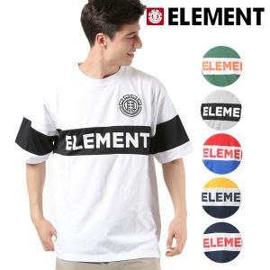 メンズ トップス 半袖 Tシャツ ELEMENT エレメント AI021-307 吸汗速乾 FX1 B15 MM murasaki