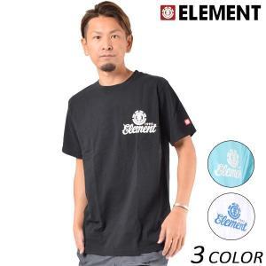 メンズ 半袖 Tシャツ ELEMENT エレメント AI021-312 FX1 A9 murasaki