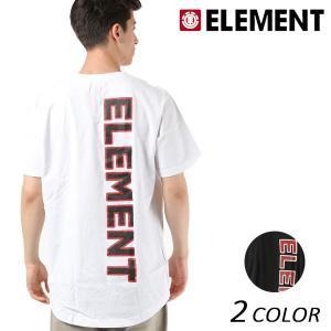 メンズ トップス 半袖 Tシャツ ELEMENT エレメント AI021-313 FX1 B15 MM murasaki