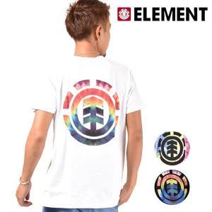 メンズ 半袖 Tシャツ ELEMENT エレメント AI021-335 FX3 G7 murasaki