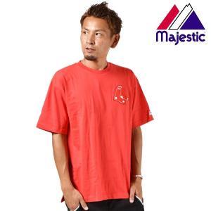 メンズ 半袖 Tシャツ Majestic マジェスティック01-BRX-8S102MS FX1 G24 murasaki