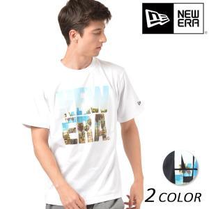 SALE セール メンズ 半袖 Tシャツ NEW ERA ニューエラ SS PTEE CITYLAND BIGNE LA FF1 D13|murasaki