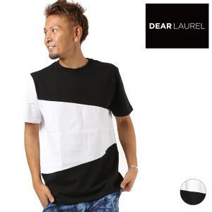 メンズ 半袖Tシャツ DEAR LAUREL ディアローレル D18S2101 FF1 F28|murasaki