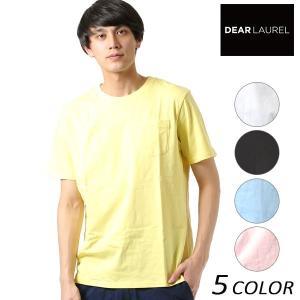 SALE セール メンズ 半袖 Tシャツ DEAR LAUREL ディアローレル D18S2105 FF1 C9|murasaki