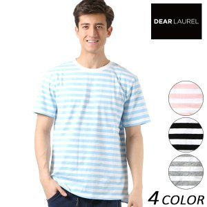 SALE セール メンズ 半袖 Tシャツ DEAR LAUREL ディアローレル D18S2107 FF1 C2|murasaki