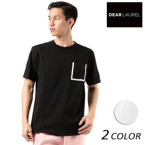 SALE セール メンズ 半袖 Tシャツ DEAR LAUREL ディアローレル D18S2108 FF2 E9|murasaki