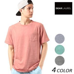 SALE セール メンズ 半袖 Tシャツ DEAR LAUREL ディアローレル D18S2112 FF2 E11|murasaki