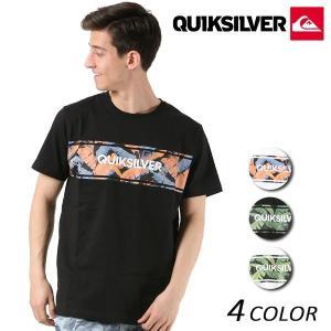 メンズ 半袖 Tシャツ QUIKSILVER クイックシルバー QST181042 FX1 B14|murasaki