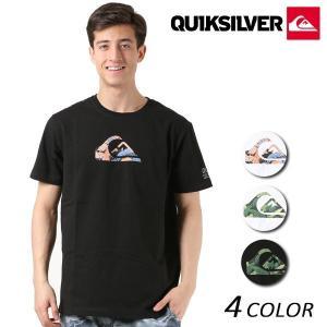 メンズ 半袖 Tシャツ QUIKSILVER クイックシルバー QST181058 FX1 B14|murasaki