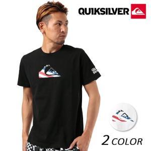 メンズ 半袖 Tシャツ QUIKSILVER クイックシルバー QST182021 FX2 E10|murasaki
