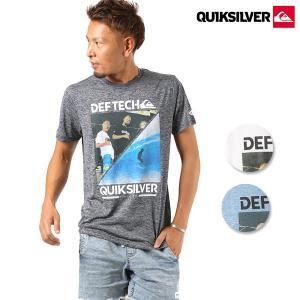 SALE セール メンズ 半袖 Tシャツ QUIKSILVER クイックシルバー × Def Tech QST184624M ムラサキスポーツ限定 FF3 F29 murasaki
