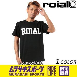 SALE セール メンズ 半袖 Tシャツ roial ロイアル R802MLTD02 ムラサキスポーツ限定 FF2 E4|murasaki