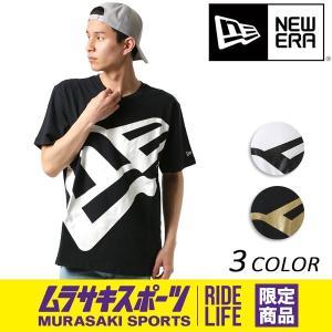 SALE セール メンズ 半袖 Tシャツ NEW ERA ニューエラ SS18 CT TEE BIG FLAG ビッグ フラッグ ムラサキスポーツ限定 FF1 C17|murasaki