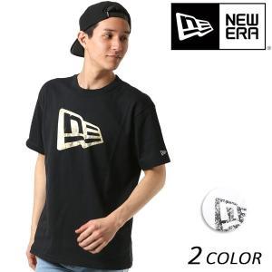 SALE セール メンズ 半袖 Tシャツ NEW ERA ニューエラ SS PTEE PAISLEY FL ペイズリー フラッグロゴ FF1 C17|murasaki