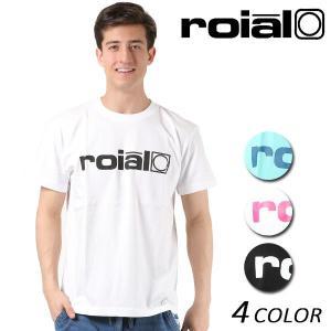 メンズ 半袖 Tシャツ roial ロイアル TS616 FF1 B14|murasaki