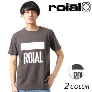 メンズ 半袖 Tシャツ roial ロイアル TS618 FF1 C8 MM|murasaki