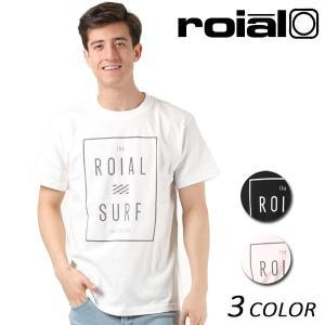 メンズ 半袖 Tシャツ roial ロイアル TS623 FF1 B14|murasaki