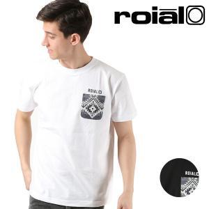 メンズ 半袖 Tシャツ roial ロイアル TS626 FF1 B14|murasaki