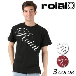 メンズ 半袖 Tシャツ roial ロイアル TS630 FF1 B14|murasaki