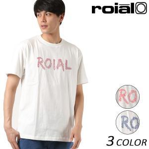 SALE セール メンズ トップス 半袖 Tシャツ roial ロイアル TS646 カジュアル クルーネック FF2 D19 murasaki