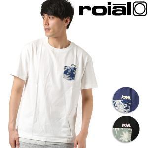 SALE セール メンズ 半袖 Tシャツ roial ロイアル TS647 FF2 D23|murasaki