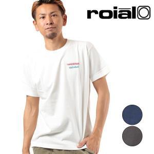 SALE セール メンズ 半袖 Tシャツ roial ロイアル TS649 FF2 E8 murasaki