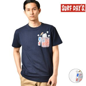メンズ 半袖Tシャツ SURF DAYS サーフデイズ 192SF1ST069MU GG1 D24