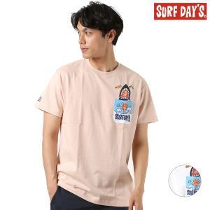 メンズ 半袖Tシャツ SURF DAYS サーフデイズ 192SF1ST079MU GG2 E30