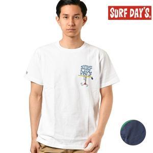 メンズ 半袖Tシャツ SURF DAYS サーフデイズ 192SF1ST112MU GG1 D25