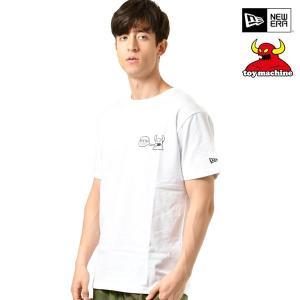 メンズ 半袖 Tシャツ NEW ERA ニューエラ × TOY MACHINE トイマシーン 119...