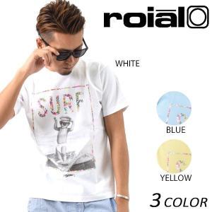 SALE セール メンズ 半袖 Tシャツ roial ロイアル TS571 EE1 C31|murasaki