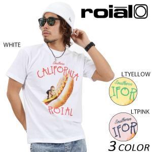 SALE セール メンズ 半袖 Tシャツ roial ロイアル TS589 EE2 D20|murasaki