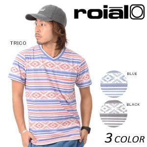SALE セール メンズ 半袖 Tシャツ roial ロイアル TS594 EE2 D25|murasaki