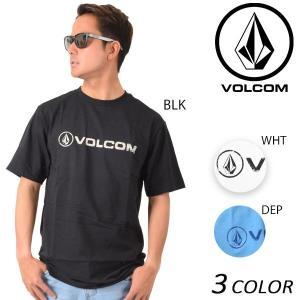 メンズ 半袖 Tシャツ VOLCOM ボルコム Lino Euro A3511701 EE1 B5 murasaki