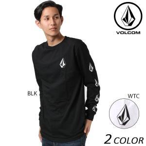 SALE セール メンズ 長袖 Tシャツ VOLCOM ボルコム Deadly Stones L/S Tee A3631702 EE3 I14 murasaki