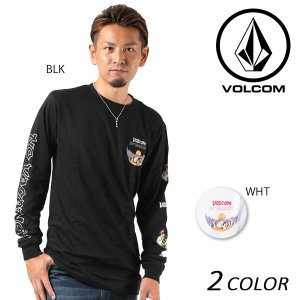 SALE セール メンズ 長袖 Tシャツ VOLCOM ボルコム Deserted L/S Tee A3631704 EE3 I1 murasaki