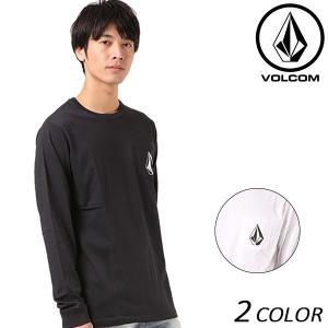 SALE セール メンズ 長袖 Tシャツ VOLCOM ボルコム MU Round L/S Tee A36317JE EE3 J30 murasaki