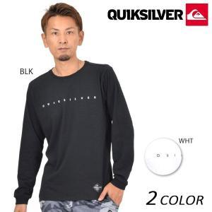 メンズ 長袖 Tシャツ QUIKSILVER クイックシルバー QLT174042 EX3 H22|murasaki