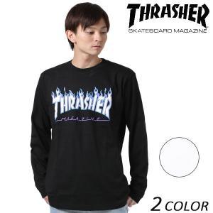 メンズ 長袖 Tシャツ THRASHER スラッシャー TH93130 EE3 I20|murasaki