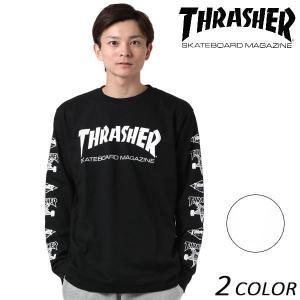 メンズ 長袖 Tシャツ THRASHER スラッシャー TH93209 EE3 I20|murasaki