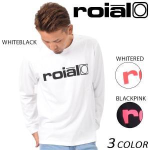 メンズ 長袖 Tシャツ roial ロイアル TS597 EE3 H16|murasaki