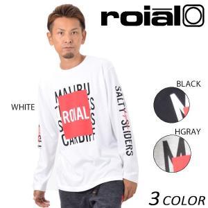メンズ 長袖 Tシャツ roial ロイアル TS598 EE3 H16|murasaki