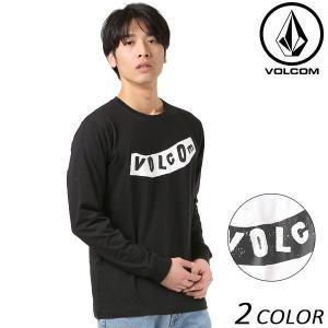 SALE セール メンズ 長袖 Tシャツ VOLCOM ボルコム Pistol L/S Tee ピストル A51118JA FF1 B22|murasaki