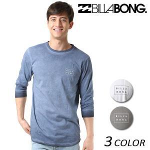 SALE セール メンズ 七分袖 Tシャツ BILLABONG ビラボン AI011-054 FX1 A19|murasaki