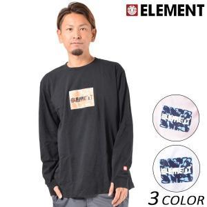 SALE セール メンズ 長袖 Tシャツ ELEMENT エレメント AI021-051 FX1 A9 murasaki