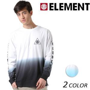SALE セール メンズ 長袖 Tシャツ ELEMENT エレメント AI021-060 FX1 L30 murasaki