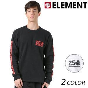 SALE セール メンズ 長袖 Tシャツ ELEMENT エレメント AI021-061 FX1 L30 murasaki